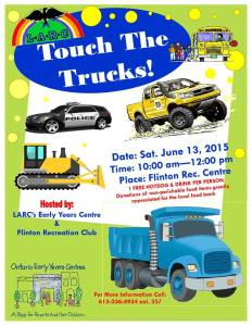 touch trucks 2015 event