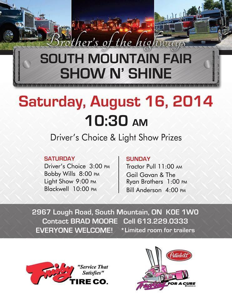 South mountain truck show poster