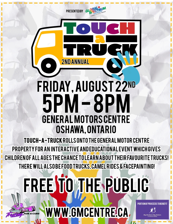 Touch a Truck Event Poster
