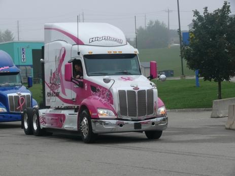 New Peterbilt truck