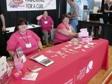 Trucking for a Cure at the shows