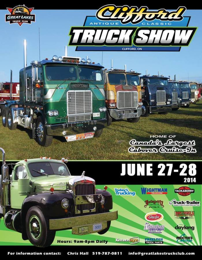 clifford truck show