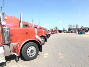 Trucking for a Cure Convoy 2017