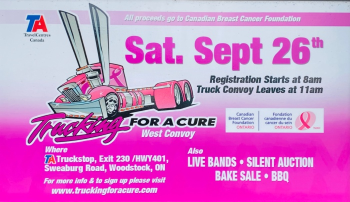 Trucking for a Cure-Woodstock 2020